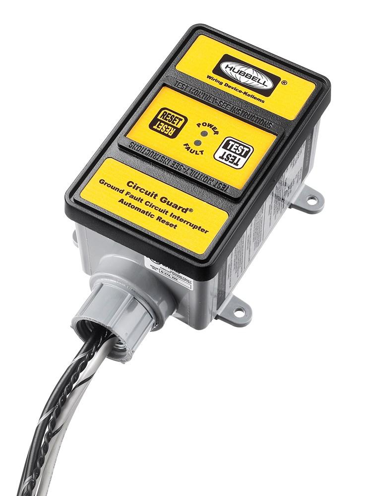 Hubbell Wiring Device-Kellems,GFHW23115,HW GFCI, 30A 240V, AUTO, W/ENUN