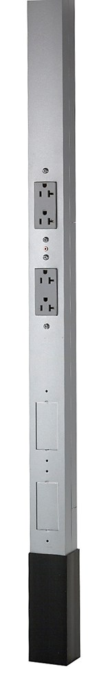 Hubbell Wiring Device-Kellems,HBLPP10A,SERVICE POLE, 10'2