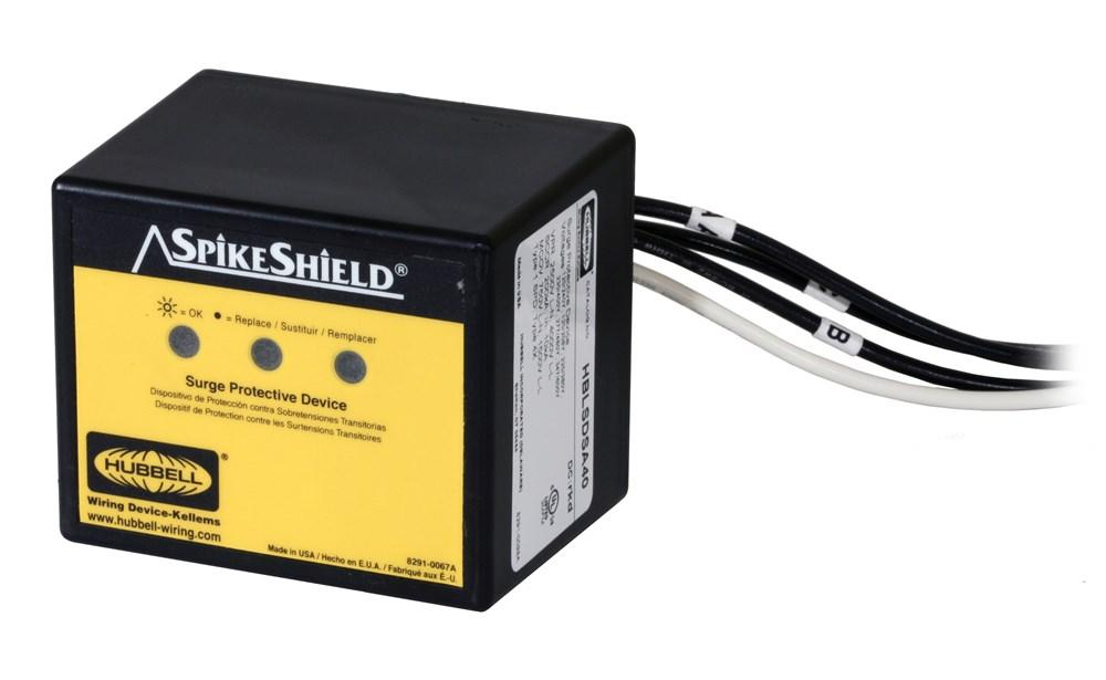 Hubbell Wiring Device-Kellems,HBLSDSA40,SEC SURGE ARRESTOR THREE PHASE