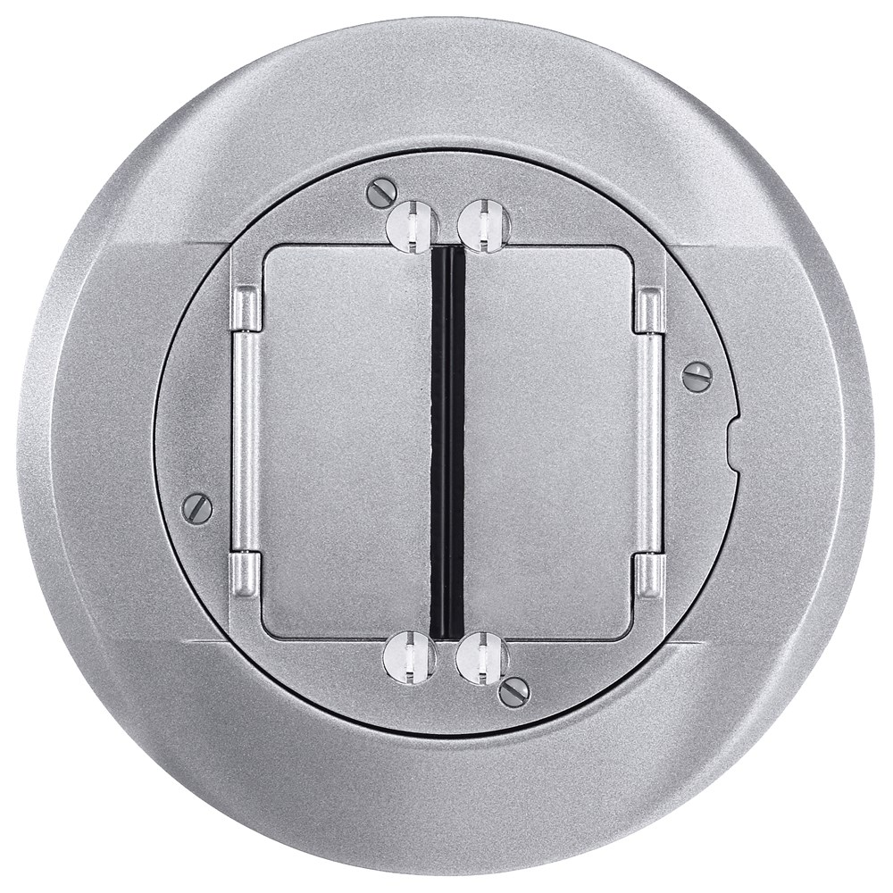 Hubbell Wiring Device-Kellems,S1CFCAL,FRPT, CARPET FLNG. SYSTEM 1, ALUM.
