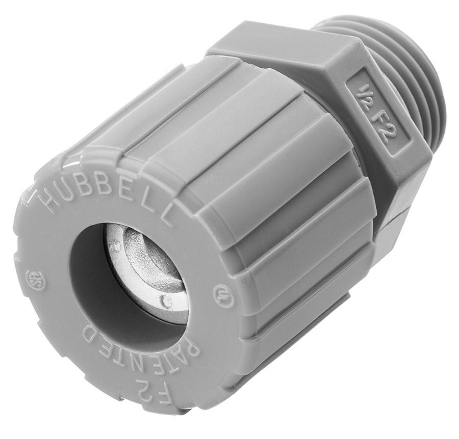 Hubbell Wiring Device-Kellems,SHC1022CR,CORD CONN, STR ML, .25-.38