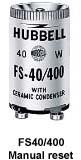 Hubbell Wiring Device-Kellems,FS20,Hubbell® Manual Reset Fluorescent Starter, Fluorescent Lamp