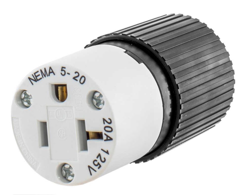 Electrical Receptacles (Straight Blade 15a-20a Connector)