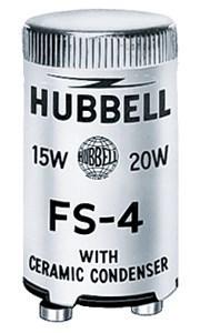 Hubbell Wiring Device-Kellems,FS4,FLUOR STARTER, 13-30-40W