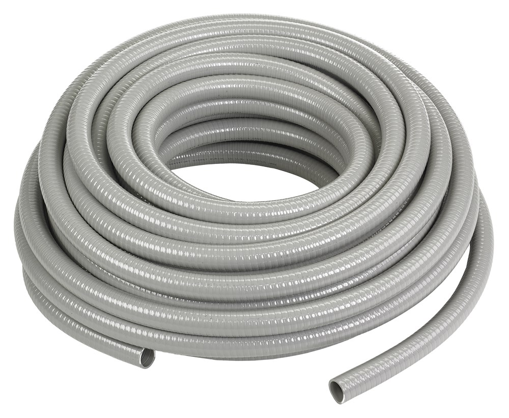 Hubbell Wiring Device-Kellems,G1050,Wiring Device-Kellems PolyTuff® Liquidtight Conduit, 1/2 in Trade, 0.63 in ID x 0.83 in OD, 100 ft L, PVC