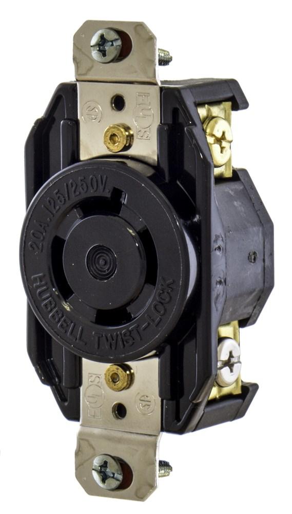 HUB L1420R NEMA L14-20R RECEPTACLE cs=10
