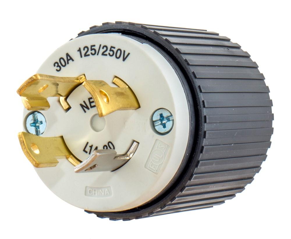 HUB L1430P NEMA L14-30P PLUG CS=10