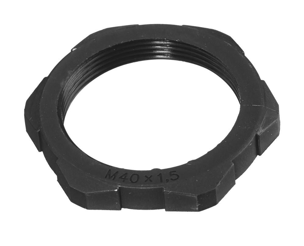 Wiring Device-Kellems LNM25BPK100 Cord Connector Low Profile Non-Metallic Locknut, 25 mm, Nylon