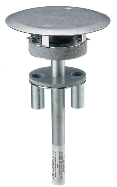 Hubbell Wiring Device-Kellems,S1PT4X4FIT,FRPT, 4X4 THRU-FLR., SYSTEM 1