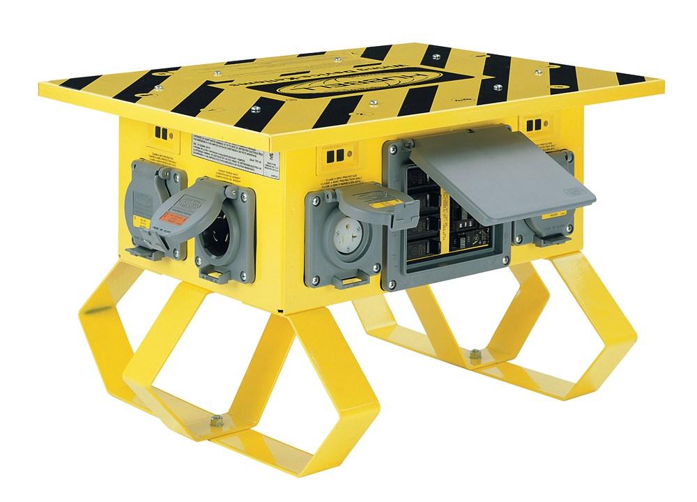 Hubbell Wiring Device-Kellems,SBTL1A,SPIDER BOX , 50A. TWISTLOCK