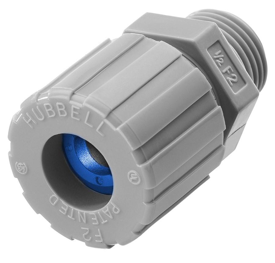 Hubbell Wiring Device-Kellems,SHC1023CR,CORD CONN, STR ML, .38-.50