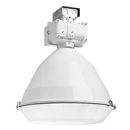 Hubbell Lighting Industrial,BL-LB1,Hubbell® Superbay Low Bay Reflector, Rounded Cone Shape, Metal Halide Lamp, 23-1/8 in Dia x 23-1/8 in L, Aluminum