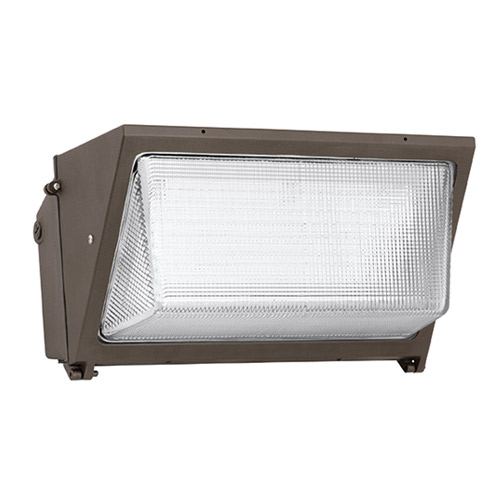 Hubbell Lighting Outdoor,WGH-250P,Hubbell® WGH-250P Wall Pack, Glass Wall pack - Horizontal Lamp Style, 250 WTT, 120/208/240/277 VAC, Lamp Included, Pulse Start Metal Halide Lamp, Number of Lamps: 1, Material: Cast Aluminum, Wall Mount