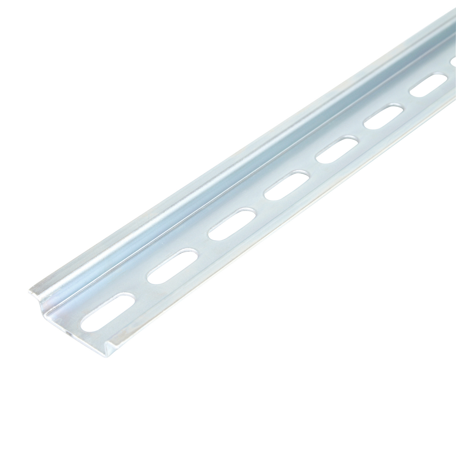 ABB,010150804,ABB 010150804 Symmetrical Mounting Rail, 1 M L x 35 mm W x 7.5 mm H, Galvanized Steel