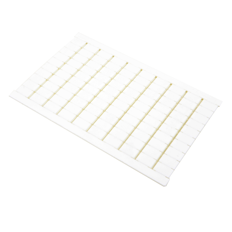ABB,023300001,entrelec® 023300001 Blank Standard Marker Card, Polyamide, White