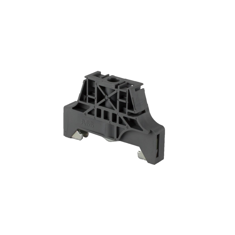 ABB,1SNK900001R0000,ABB 1SNK900001R0000 End Stop, For Use With SNK Terminal Blocks Assemblies, Polyamide, Dark Grey
