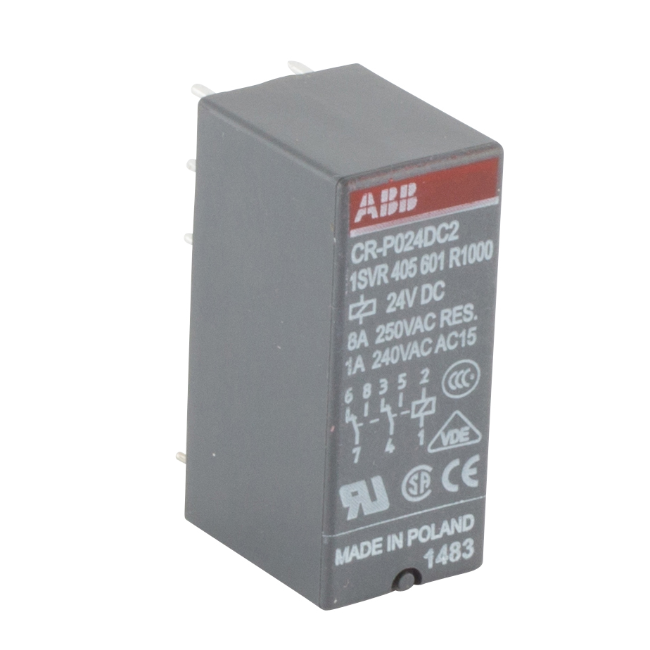 Abb 1svr405601r1000 North Coast Electric Electrical Relay Dpdt Abb1svr405601r1000abb Cr P General Purpose Plug In Control