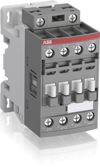 ABB,AF09-30-10-13,AF09 3P CONTR, 1NO, 100-250VAC/D