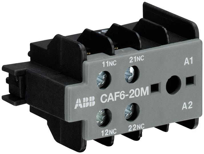 CAF6-20M ABB TOP MTD AUX 2NO BC6 AND BC7/3P
