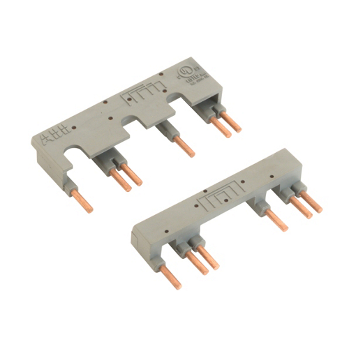 ABB BER16-4 REVERSER KIT AF09-AF16 Includes: Insulated, Solid, Rigid Copper Wires and Connects between the Main Poles of two 3-Pole Contactors mounted side by side so that they can be operate as Reversing Contactors