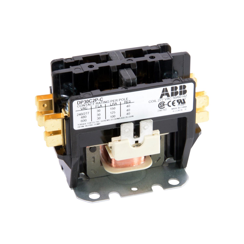 ABB DP30C2P-C 2-Pole 30 Amp De?nite Purpose Contactor
