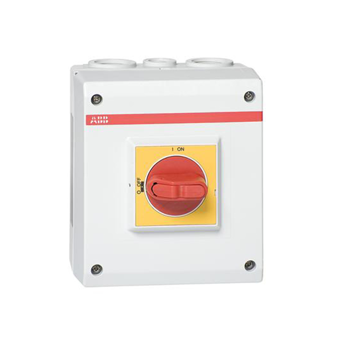 ABB,EOT32U3P4-1P,ABB EOT Non-Fusible Enclosed Disconnect Switch, 600 VAC, 25 hp, 40 A, 1NO Contact Form, 3 Poles