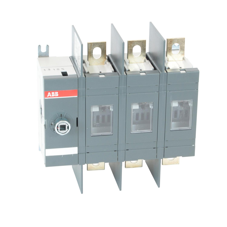 ABB,OT200U03,ABB OT Class T Non Fusible Disconnect Switch, 600 VAC, 200 hp, 200 A, 3 Poles