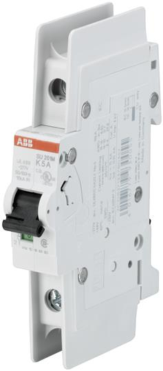 ABB PS1-4-0-65 3-Phase Busbar System. 65A, 600V Rated. For use with up to (4) MS116 or MS132 Series Manual Motor Protectors.