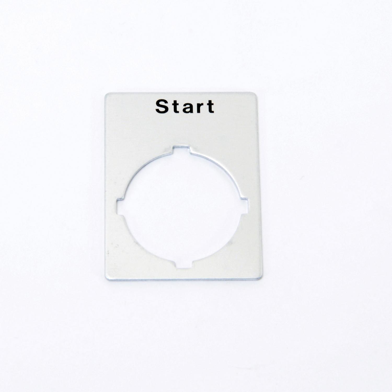 ABB SK615550-44 START NAME PLATE - LEGEND
