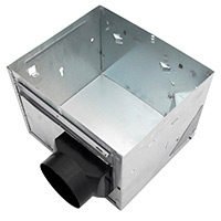 Air King,AK-1HSG,Air King® ENERGY STAR® AK-1HSG Contractor Housing Unit, For Use With AK80LS1MBG/AK80MBG/AK90MBG/AK110PNT Bath Fans
