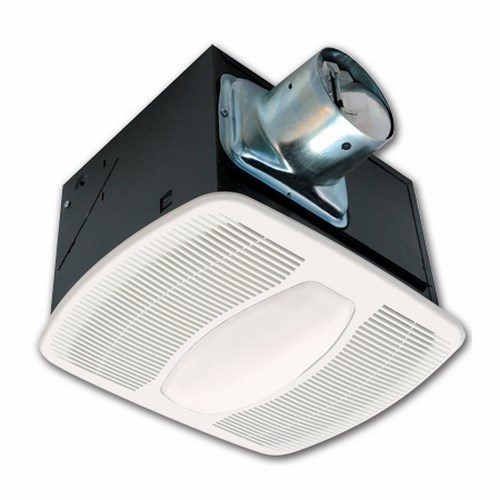 Air King,AKF80LS,Air King® AKF80LS Exhaust Fan With Light, Fluorescent Lamp, 115/120 VAC, Metal Housing