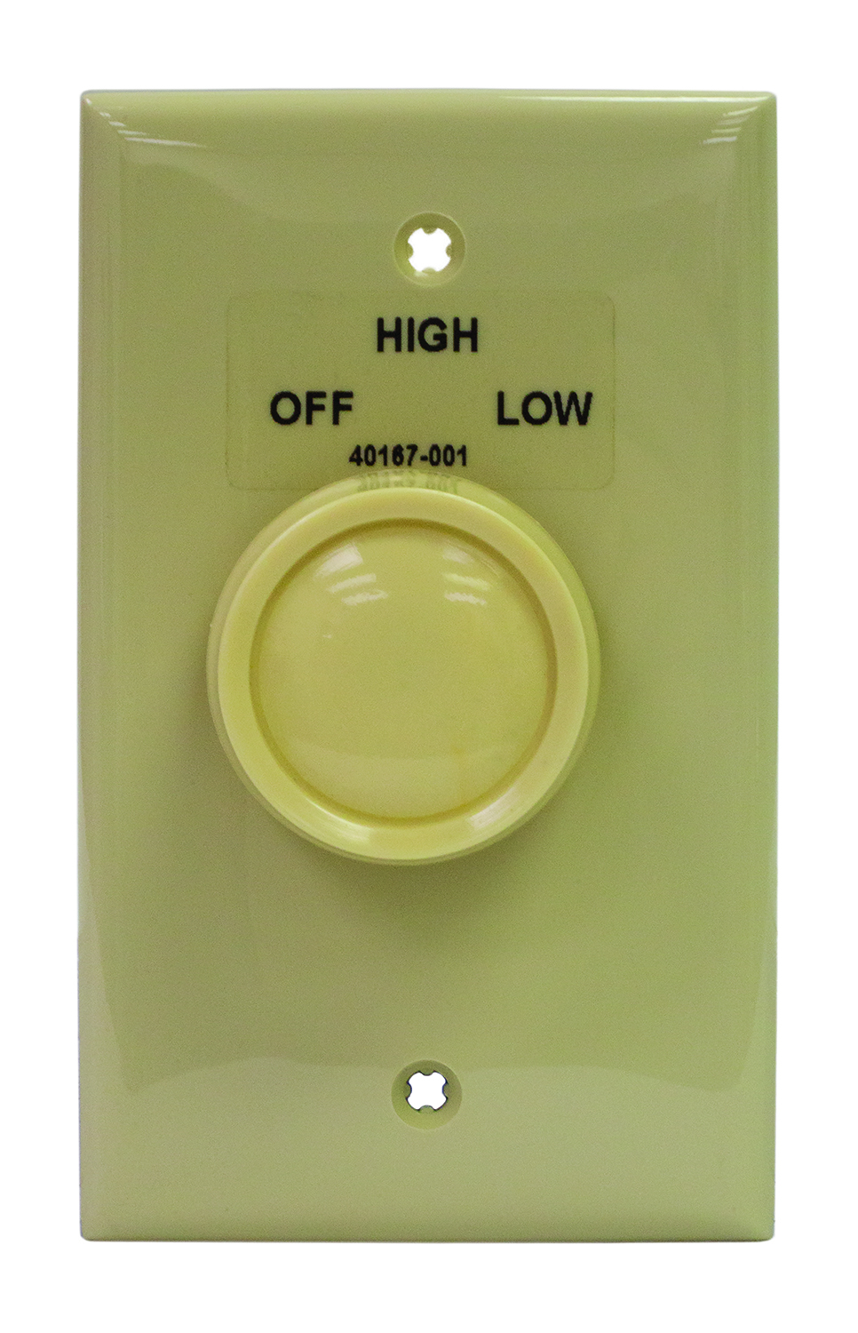 2-SW TPI 2 SPEED WALL SWITCH & PLATE