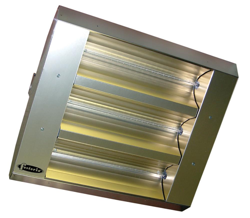 TPI34330THSS208V 3-LAMP MUL-T-MOUNT INFRARED HEATER STAINLESS STEEL HOUSING 208V 30? SYMMETRICAL, TPI/FOSTORIA