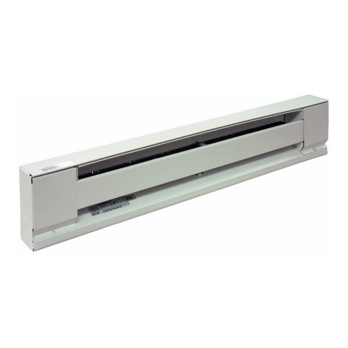 TPI/Raywall H2910048SW 48 in. Steel Element Baseboard Heater, 240/208 Volt, 1000/750 Watt