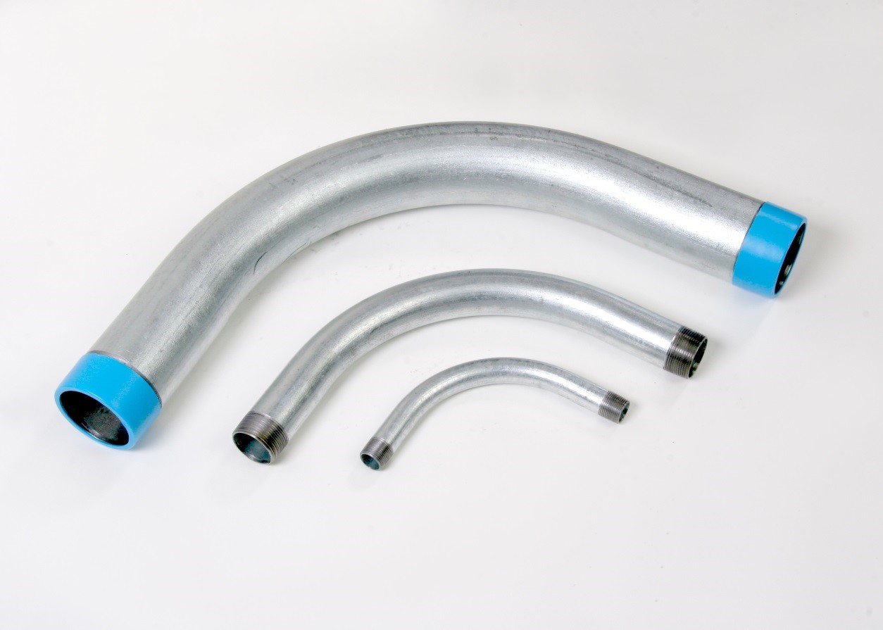 Conduit Fittings CONDUIT 2-IN-90DEG-GALV ELBOW