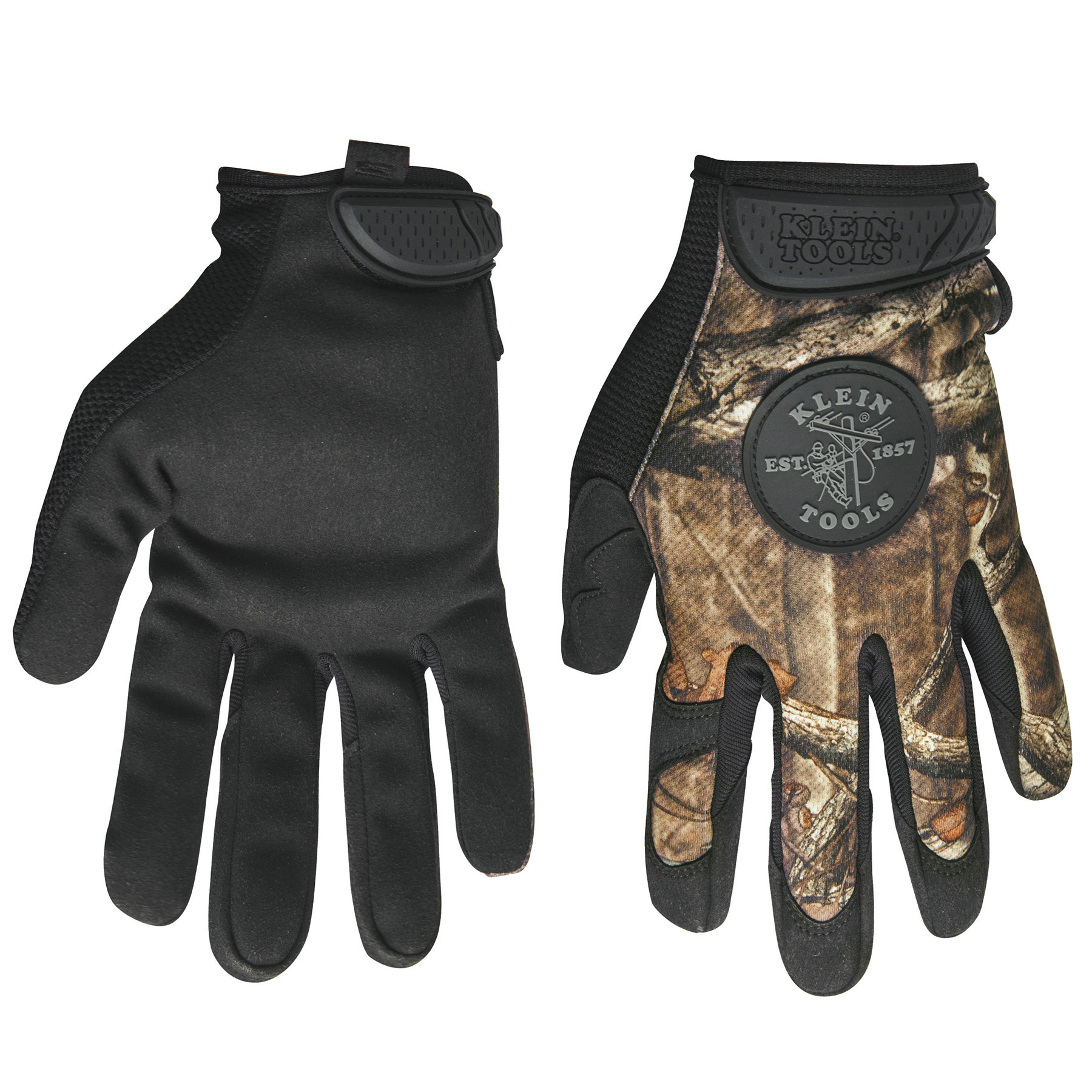 KLE 40210 Journeyman Camouflage Gloves, size XL