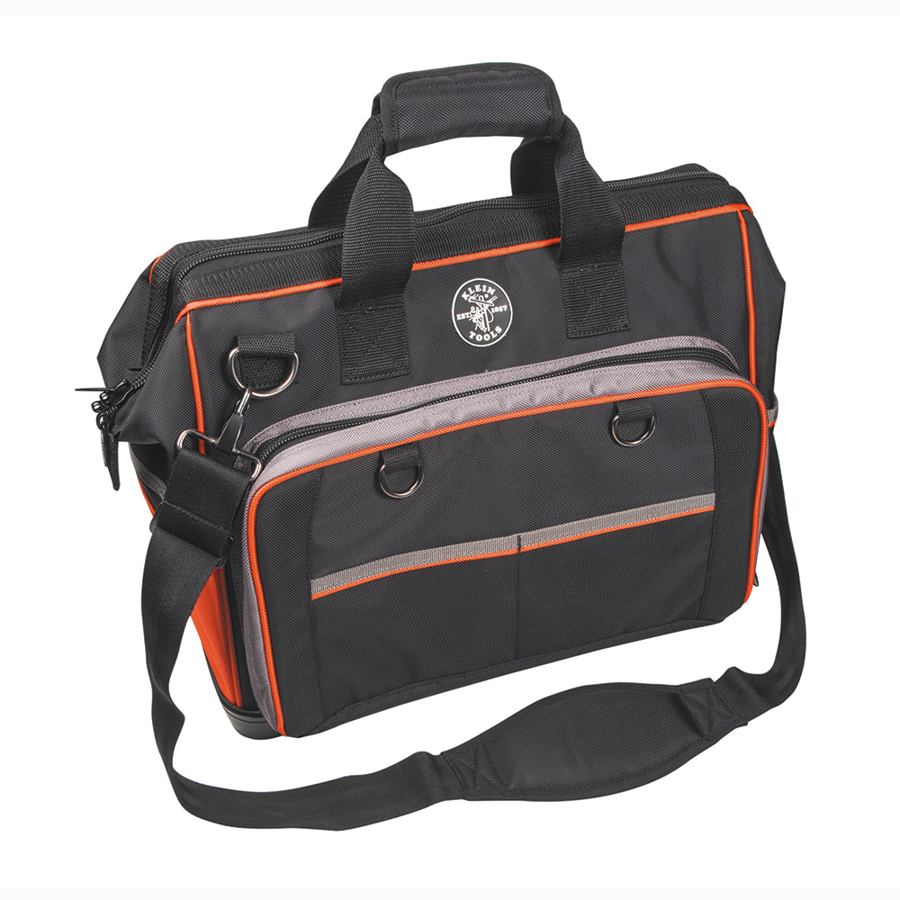 Klein Tools,554171814,Klein® Tradesman Pro™ 554171814 Extreme Electricians Bag, 17-1/2 in L x 10 in W x 14 in H, Polyester