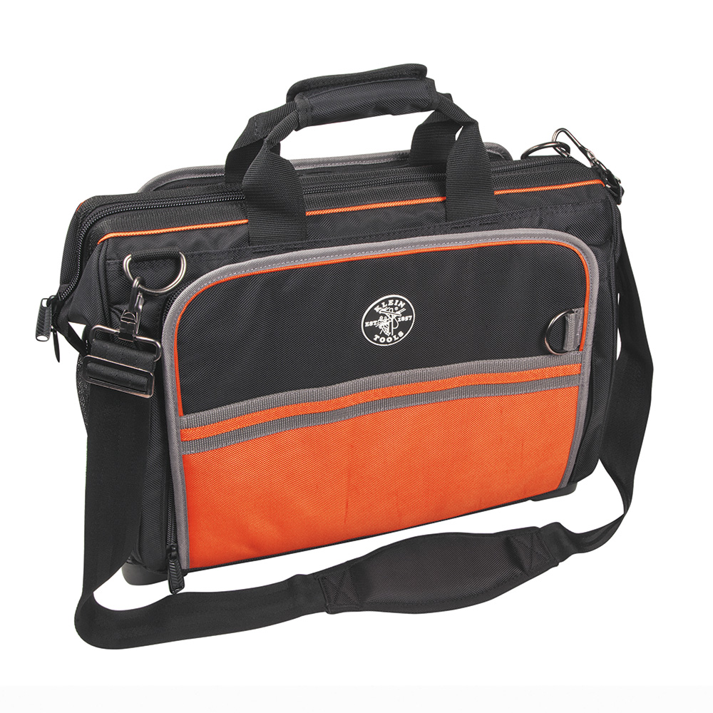 Klein Tools,554181914,Klein® Tradesman Pro™ 554181914 Ultimate Electricians Bag, 19 in L x 6-1/2 in W x 16 in H, Polyester