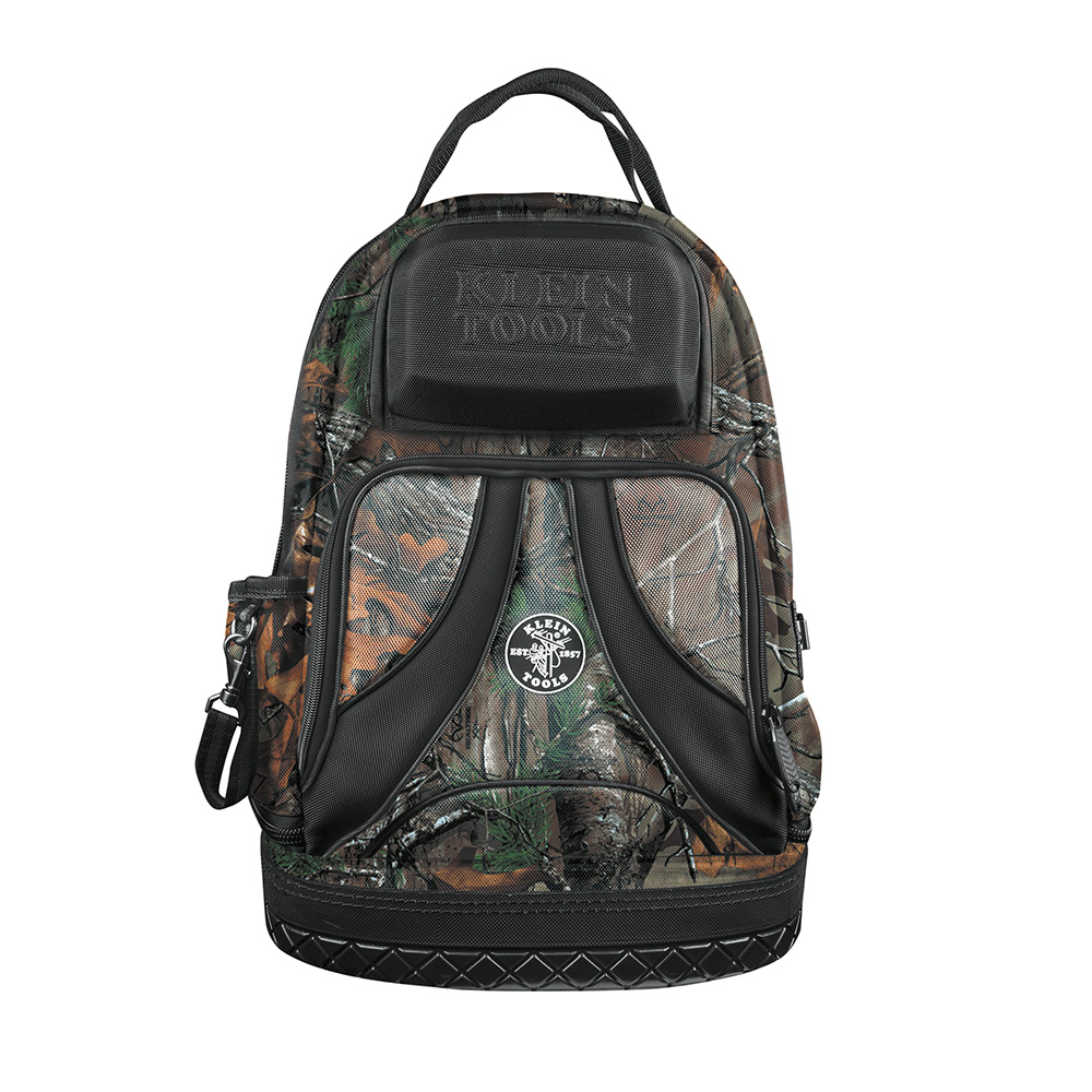 KLE 55421BP-14CAMO TRADESMAN PRO ORGANIZER BACKPACK