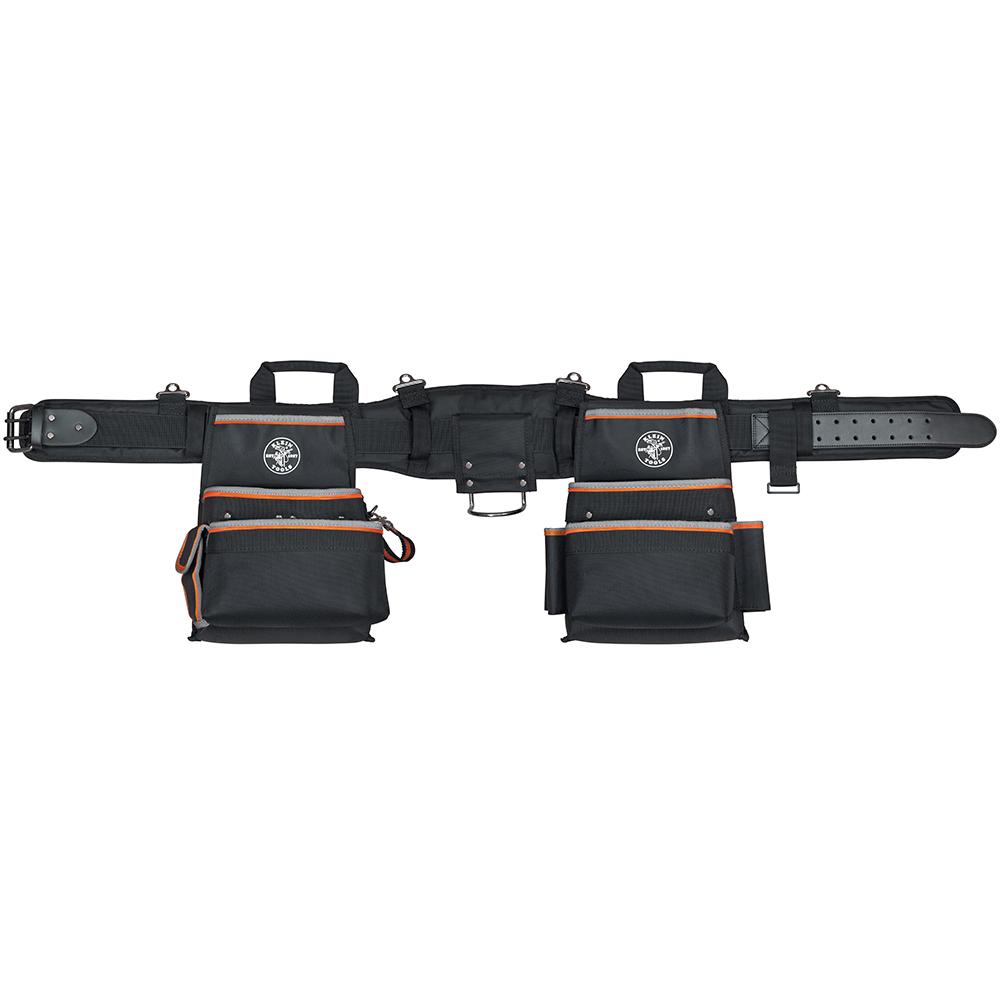 Klein Tools,55428,Klein® Tradesman Pro™ 55428 Electrician's Tool Belt, L, Leather