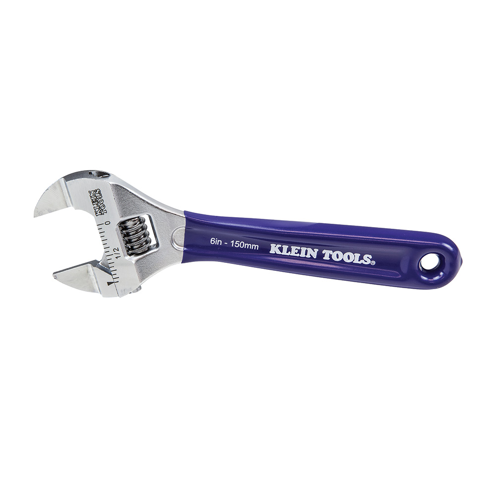 D86934 KLEIN SLIM-JAW ADJUSTABLE WRENCH, 6