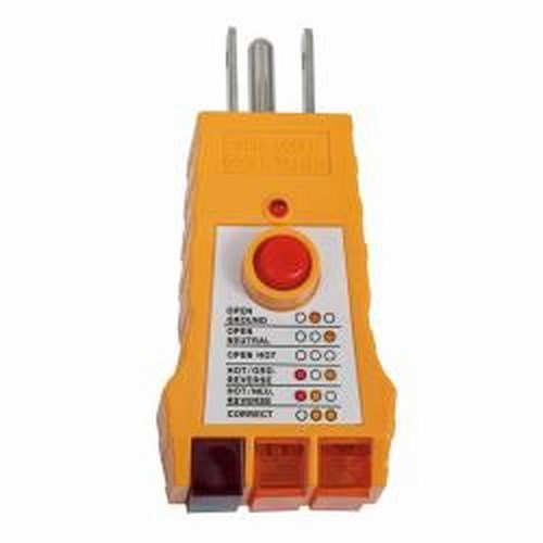 Klein Tools,RT200,GFCI Receptacle Tester
