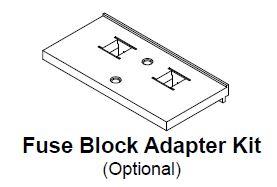SPFBAK1 HAMMOND SPARTAN FUSE BLOCK ADAPTER KIT