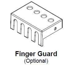 Hammond SPARTAN FINGER GUARD KIT