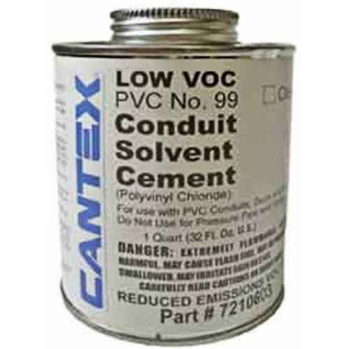 CAN 7210603 CEMENT PVC CLEAR QT #99