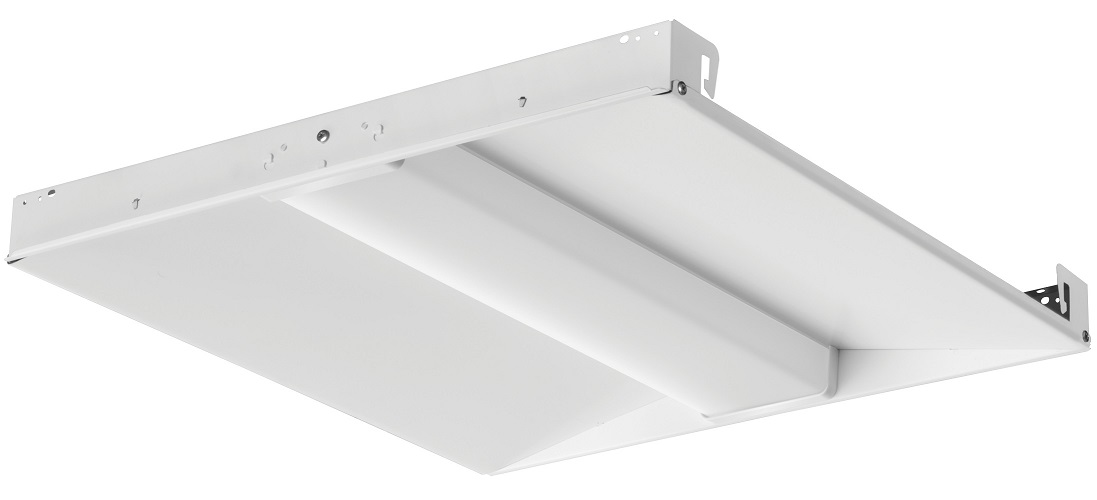 Lithonia Lighting BLC 2X2 3300LM 40K Center-Basket LED Troffer