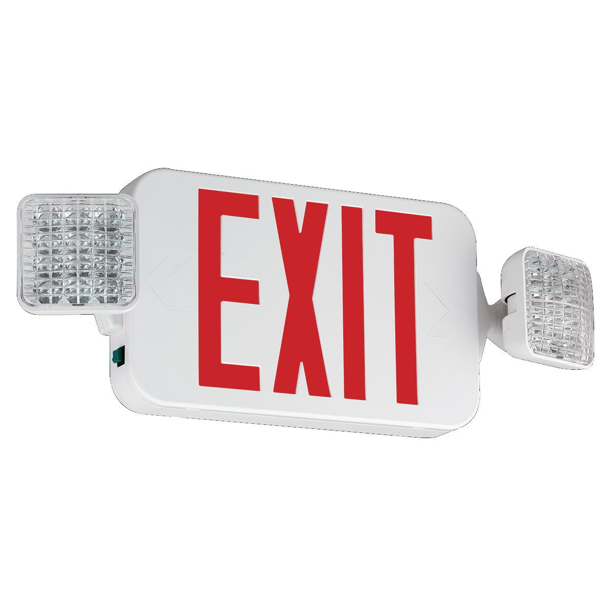 dua CCRHOSQ DUA EXIT SIGN CC RED LETTER WHITE
