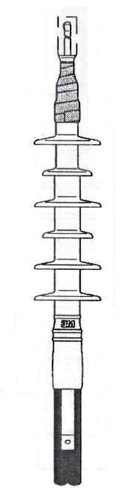3M,5692K,Cold Shrink Termination Kit 6 Skirt (3 terms/kit)