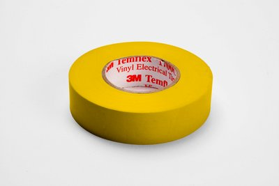 3M 1700C-YELLOW 3/4 x 66 Foot Vinyl Code Tape