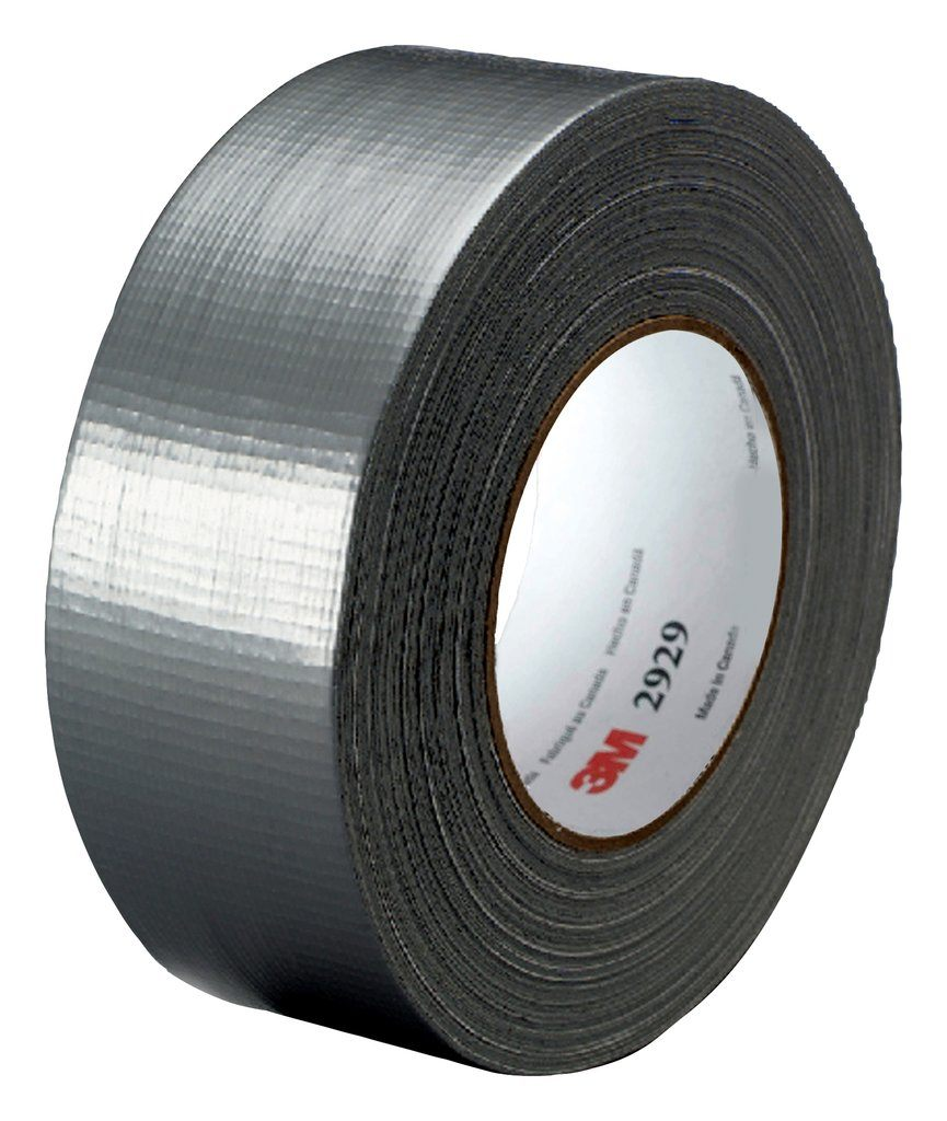3M 2929-Silver-48mm Utility Duct Tape, 1.88in x 50yd (48mm x 45.7m), 6.0mils Silver cs=24